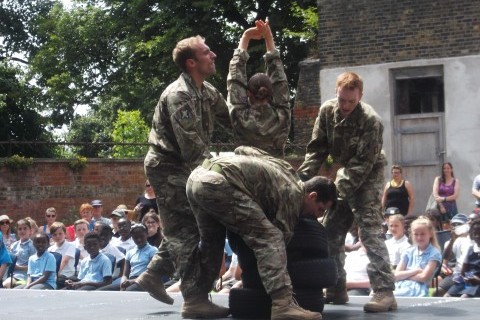 '5 Soldiers' Performance - Part of Greenwich and Docklands International Festival 2017
