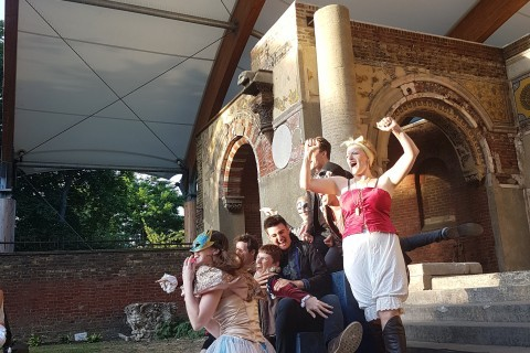 'Hamlet' Open Air Performance by Changeling Theatre