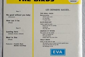 EVA (courtesy of Decca) re-release EP cover back