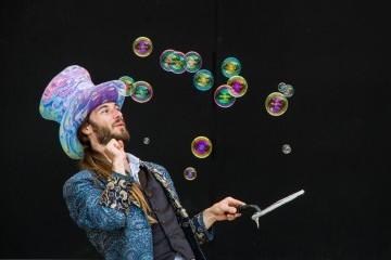 Lots of bubbles