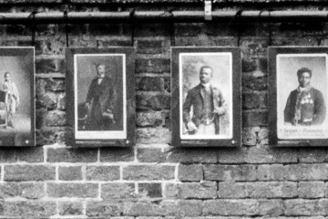 Some of the original Victorian photos which inspired the piece