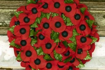 Wreath laid by Woolwich Garrison Church Trust